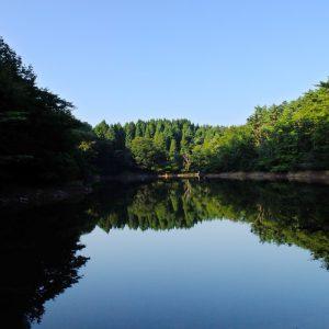 倉ケ岳の大池の写真